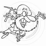 Prospector Drawing Cartoon Panning Getdrawings Drawings sketch template