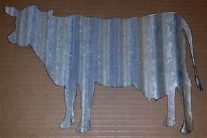 corrugated metal cow With corrugated metal letters wholesale