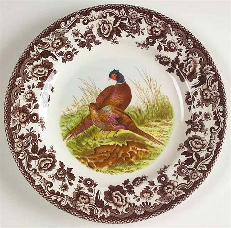 spode china replacements spode woodland pheasant salad plate 4579839 ebay