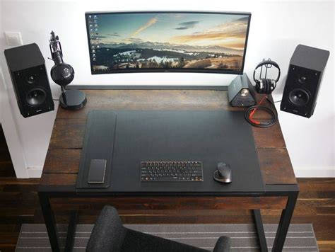 office desk setup ideas 15 best collection of minimal computer desk