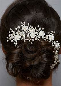 Amanda Wyatt AW1167 Pearl Bridal Hair Vine Zaphira Bridal