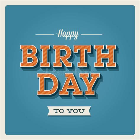 Change the color and text to your own branded 21st birthday card message using over 103 fresh fonts. Happy Birthday Card, Font Type Stock Images - Image: 28687554