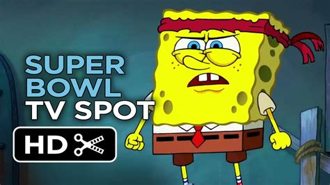 Sponge Out Of Water Super Bowl Tv