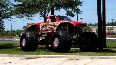 youtube monster truck gunslinger monster truck youtube