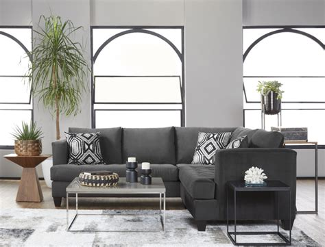 bing ash  piece sectional curleys