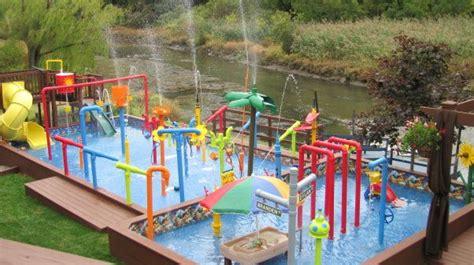 Water Park In Backyard by Best 25 Backyard Water Parks Ideas On
