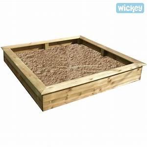 Bac à Sable Bois : bac sable en bois king kong 160cm achat vente bac ~ Premium-room.com Idées de Décoration
