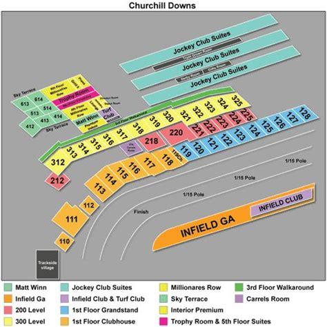 ideas  churchill downs seating chart  pinterest   churchill downs