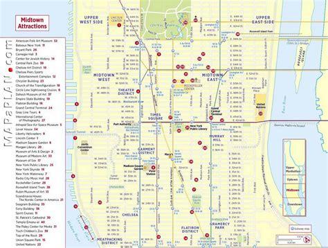 New York Karte Sehenswürdigkeiten
