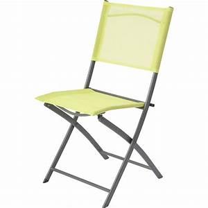 chaise de jardin en acier denver vert leroy merlin With leroy merlin chaise jardin