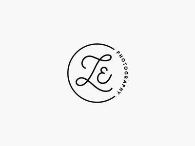 lauren elsasser photography logo mark identity logos