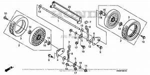 Honda Hrc216k3 Pda Lawn Mower  Usa  Vin  Maja