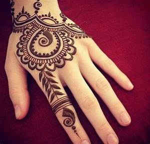 100 Simple Henna Tattoo Designs | Henna tattoo designs ...