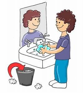 Washing Hands Cartoon - ClipArt Best