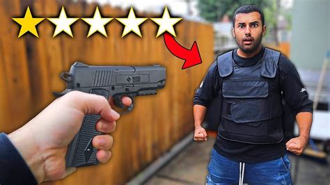 I Bought The Worst Rated Bullet Proof Vest On Wish!! (1