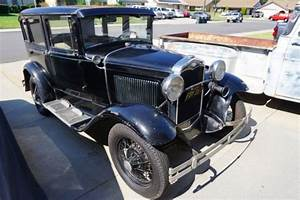 1931 Ford Model A Fordor 4 Door Sedan Survivor For Sale