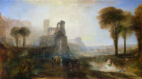 Painting Wallpaper by Caligula S Palace And Bridge Hd Wallpaper And