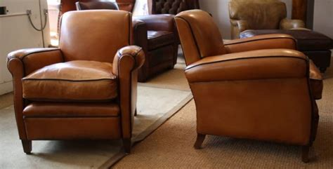 leather chairs  bath french leather club chairs