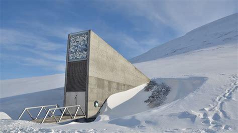 spitsbergen seed vault svalbard global seed vault