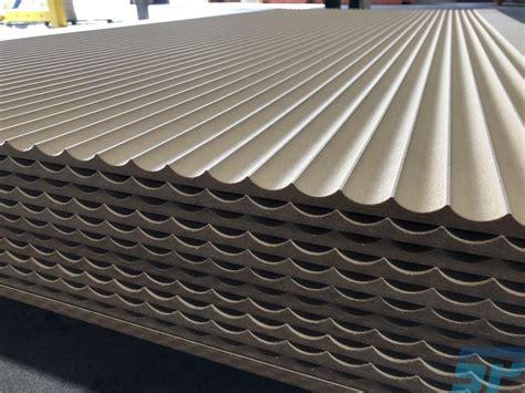 mdf fluted detail scandinavian profiles machining fabricating building materials