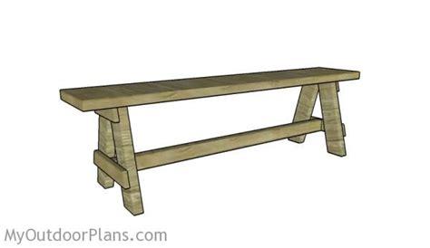 outdoor bench seat plans myoutdoorplans