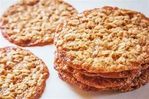 Oatmeal Lace Cookies Recipe SimplyRecipes com