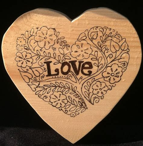 love wood burning wall plaque products pinterest