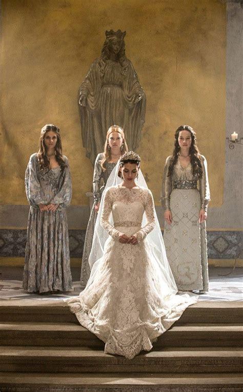 reign   tv  wedding dresses   reign