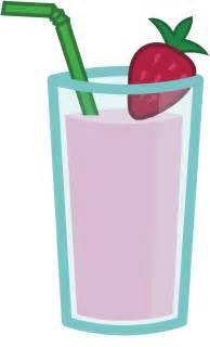 Strawberry Banana Smoothie Cartoon