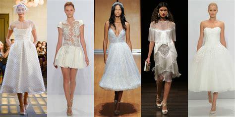 13 Short Wedding Dresses For Summer