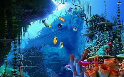 Underwater Wreck Ocean