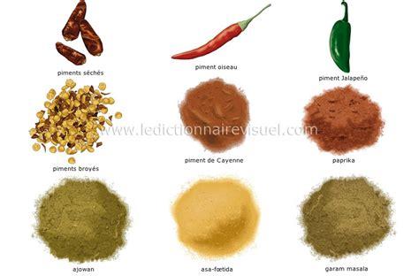 piment en espagnol alimentation et cuisine gt alimentation gt 233 pices image dictionnaire visuel