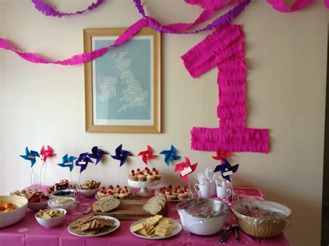 idee decoration anniversaire   fille