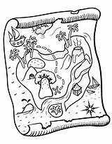 Treasure Coloring Map Maps Pdf Pirate Printable Coloringcafe Colouring Sheet Printables Paper Crafts Button Standard Prints Below sketch template