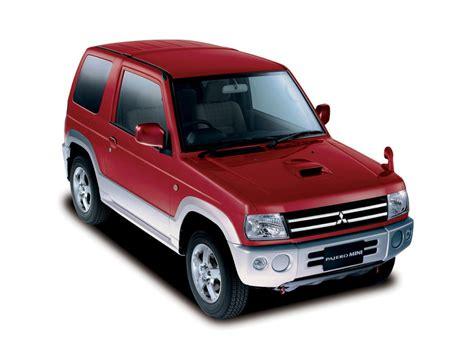 Mitsubishi Mini Suv by Mitsubishi Pajero Mini 1998 1999 2000 2001 2002 Suv