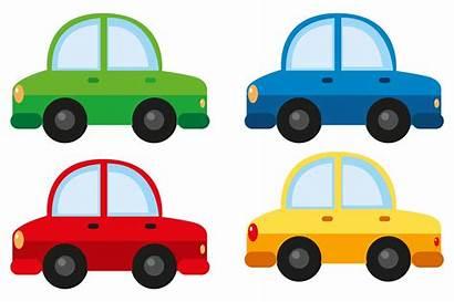 Different Cars Four Colors Vector Clip Vecteezy