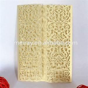 aliexpresscom buy quotlittle vinesquot light gold pocket With elegant wedding invitations usa