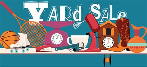Backyard Sales by Royalty Free Garage Sale Clip Vector Images