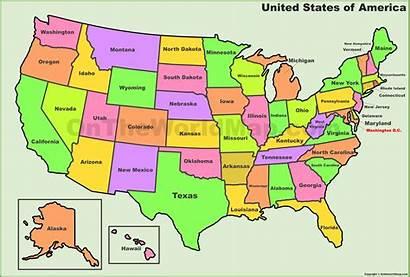 States Map Usa