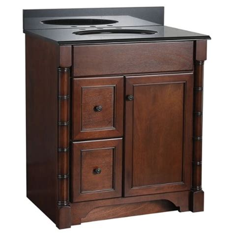 Bathroom Vanity With Drawers On Left Side by Comparamus Foremost Esna3021dl Estlin 30 Inch Bath