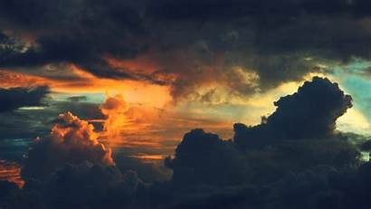 Clouds Sunset Wallpapers Nature Colorful Desktop Background
