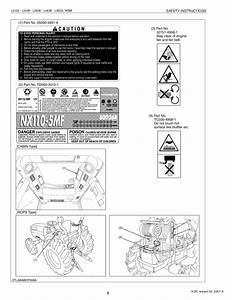 Kubota L3830 Tractor Service Repair Manual