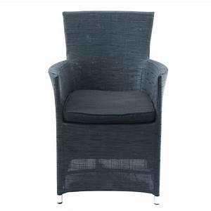 Fauteuil De Jardin Maison Du Monde : fauteuil de jardin gris anthracite ibiza maisons du monde ~ Premium-room.com Idées de Décoration