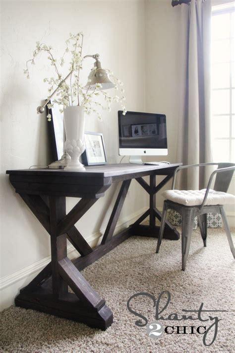 farmhouse style desk diy desk for bedroom farmhouse style shanty 2 chic