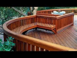 Decks For Round Above Ground Pools by 243 Deck Railing Ideas Youtube