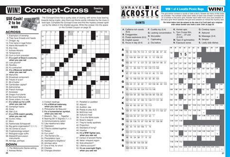 Christine's Big Crossword Magazine