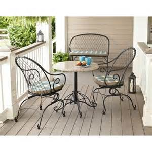 jaclyn smith cherry valley granite bistro table outdoor
