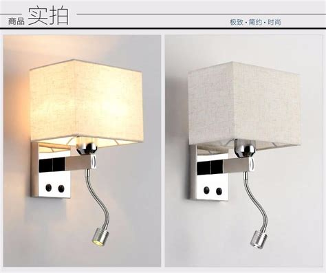 bedside wall ls with switch led reading light l wall