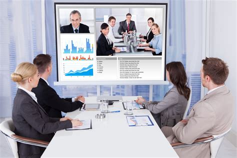 advantages  disadvantages  video conferencing