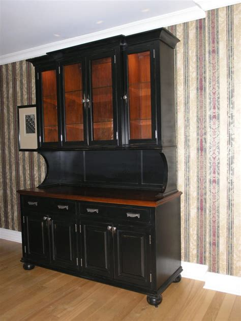 Black Kitchen Furniture by Kitchen Kitchen Hutch Cabinets For Efficient And Stylish